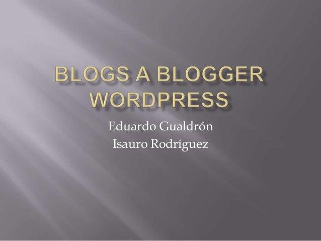 Eduardo Gualdrón Isauro Rodríguez