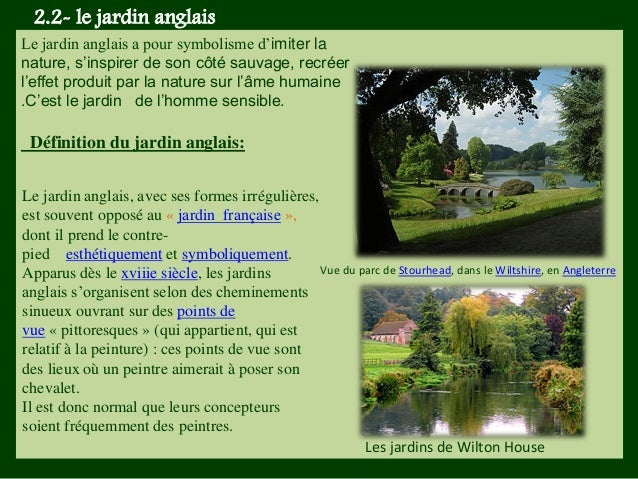 Expo jardin for Jardin anglais definition
