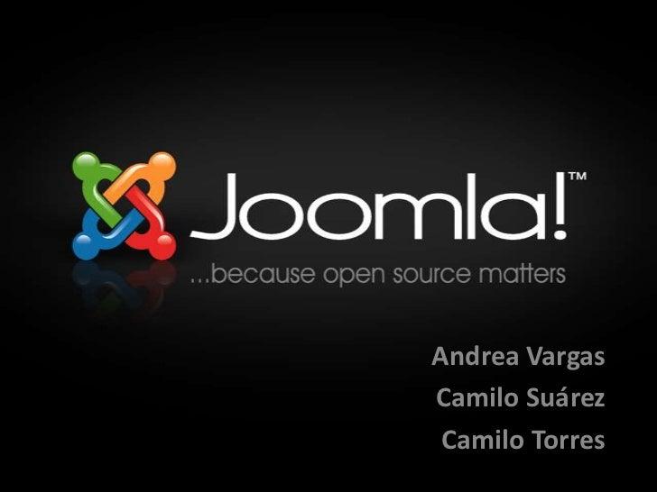 Andrea Vargas<br />Camilo Suárez<br />Camilo Torres<br />