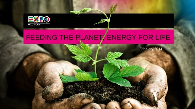 FEEDING THE PLANET, ENERGY FOR LIFE February 2014