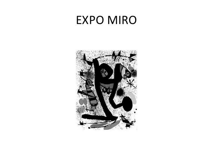 EXPO MIRO<br />