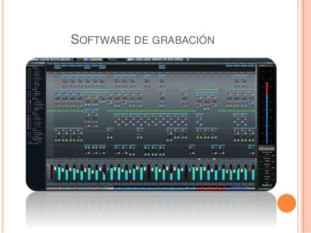 SOFTWARE DE GRABACIÓN
