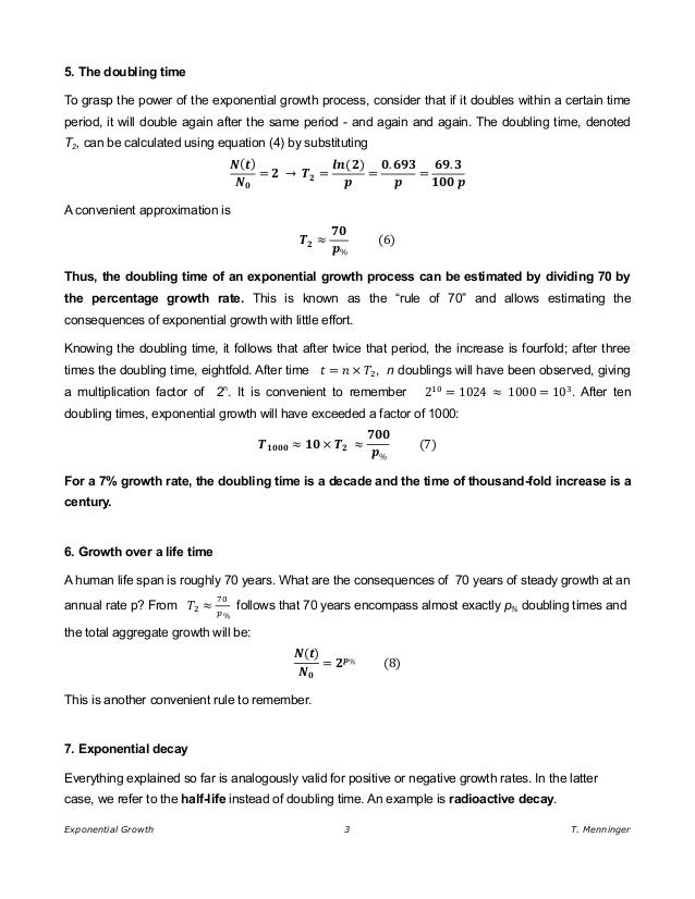Collection of Exponential Growth And Decay Worksheets - Sharebrowse