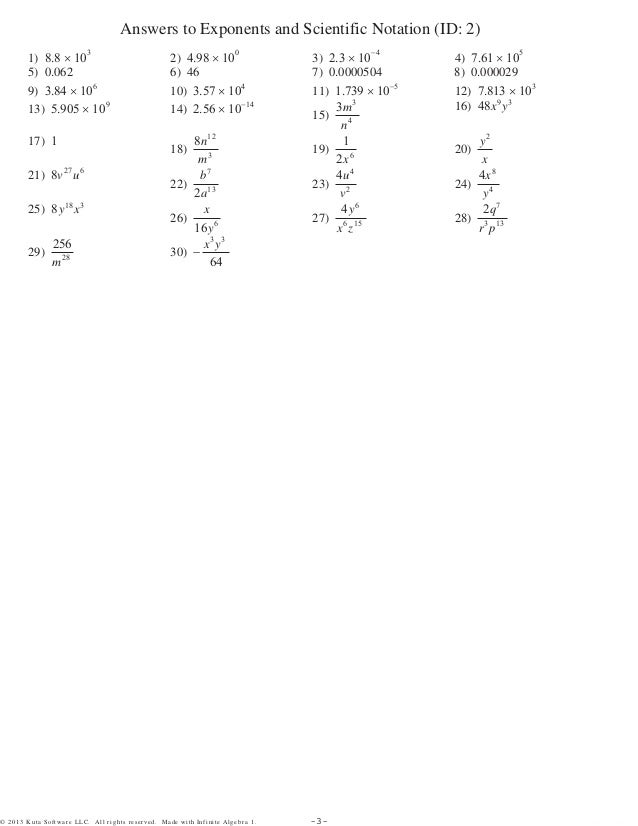 division properties of exponents worksheet - Termolak