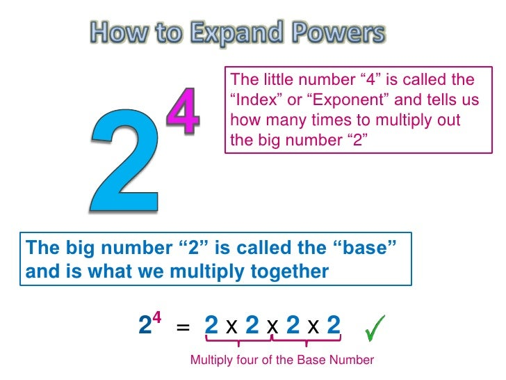 Algebra Exponents Multiplication