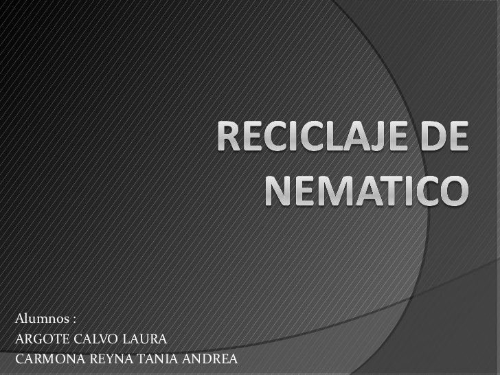Alumnos :ARGOTE CALVO LAURACARMONA REYNA TANIA ANDREA