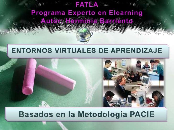 Esta metodología facilita la implementación del E-Learningcombinando tanto procesos tecnológicos como pedagógicos,tomando ...