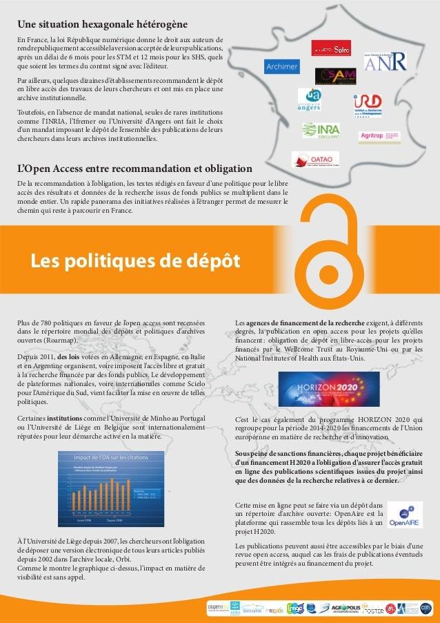 Consortium Unifié des Etablissements Universitaires et de Recherche pour l'Accès aux Publications Numériques Les politique...