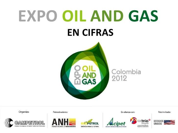EXPO OIL AND GAS     EN CIFRAS