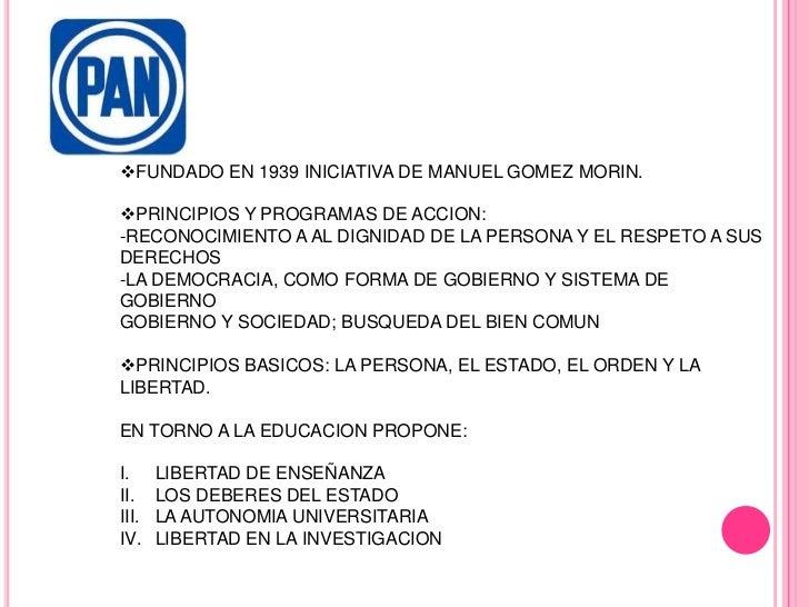 <ul><li>FUNDADO EN 1939 INICIATIVA DE MANUEL GOMEZ MORIN.
