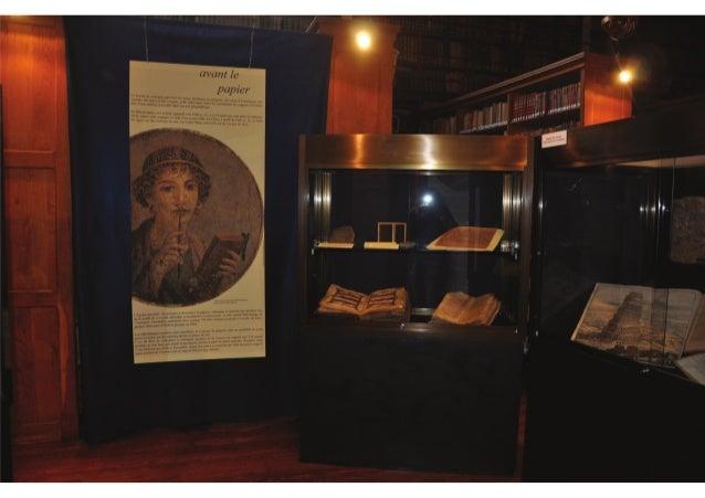 """Bibliothèque d'Autun_Exposition """"Tous les papiers du livre""""_20 septembre 2014"""