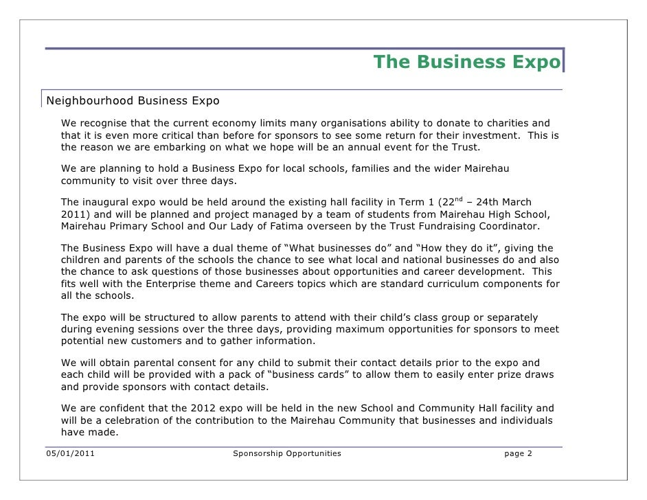 Business in the Community Expo Slide 2