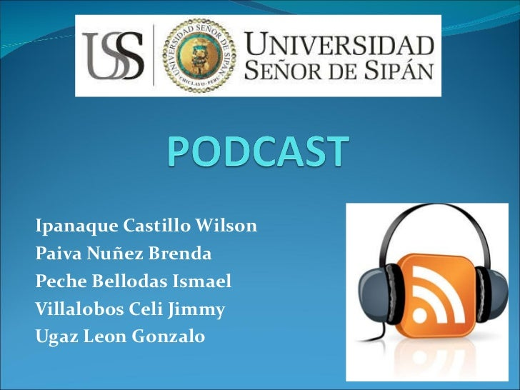 Ipanaque Castillo Wilson Paiva Nuñez Brenda Peche Bellodas Ismael Villalobos Celi Jimmy Ugaz Leon Gonzalo