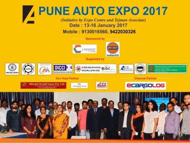 Vision AUTO EXPO 2017 will be the best opportunity to showcase the latest products, technology, research, design, test & m...