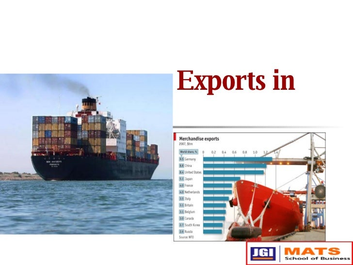Exports in India