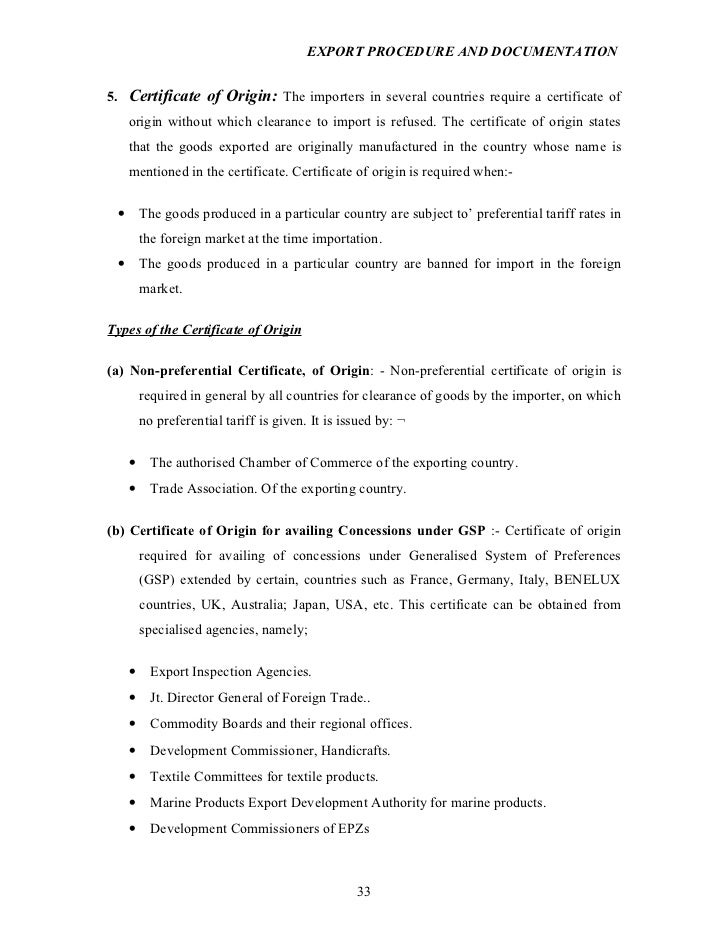 certificate of origin example - Forte.euforic.co