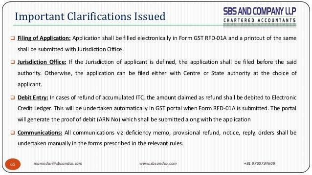 Export Refund under GST Laws Final