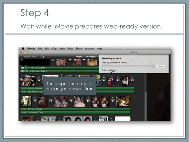 How to Export a Shareable Movie from iMovie '11