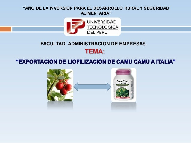 """""""AÑO DE LA INVERSION PARA EL DESARROLLO RURAL Y SEGURIDAD                       ALIMENTARIA""""      FACULTAD ADMINISTRACION ..."""
