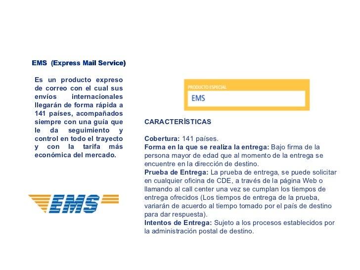 Exporta facil correos del ecuador for Oficina internacional de destino correos