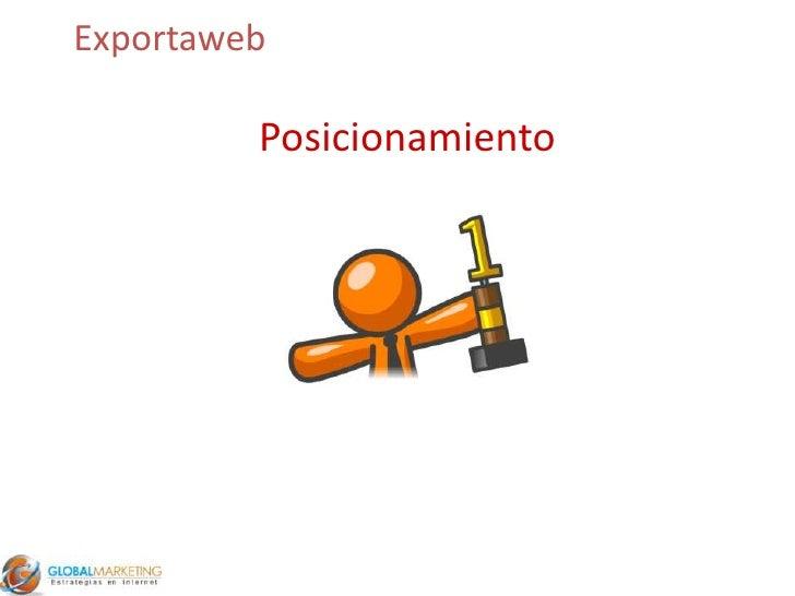 Exportaweb<br />Posicionamiento<br />