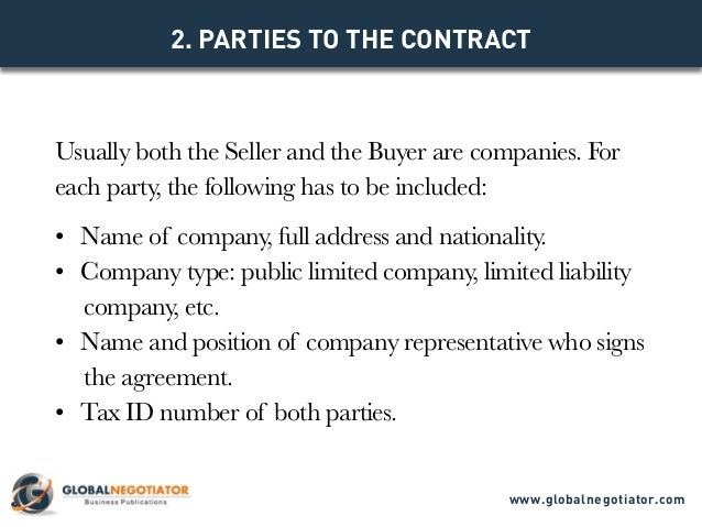 EXPORT CONTRACT Contract Template and Sample – Export Contract