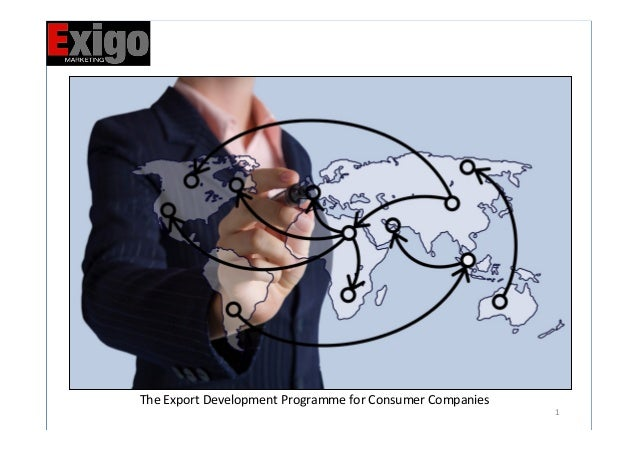 1   The  Export  Development  Programme  for  Consumer  Companies