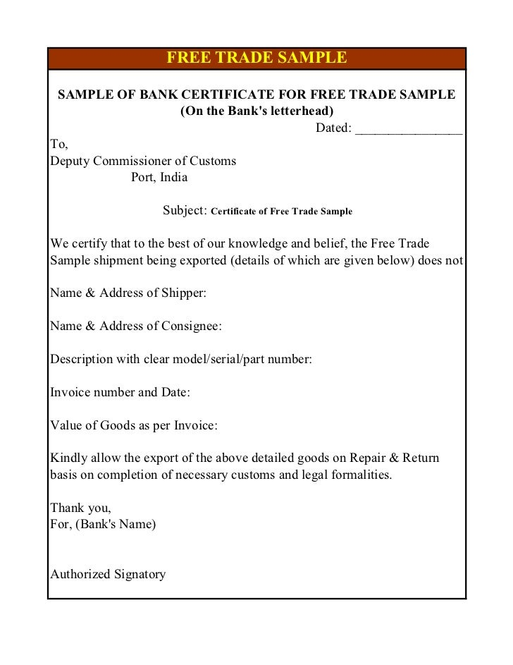 Sample of bank certificate for issue of iec choice image bank certificate sample letter image collections certificate sample format of bank certificate for issue of iec yadclub Images