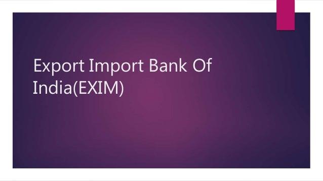 Export import study in india