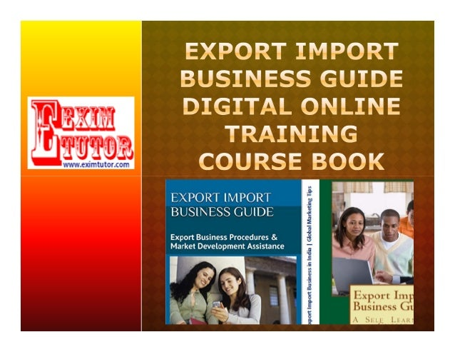 import export business plan pdf india
