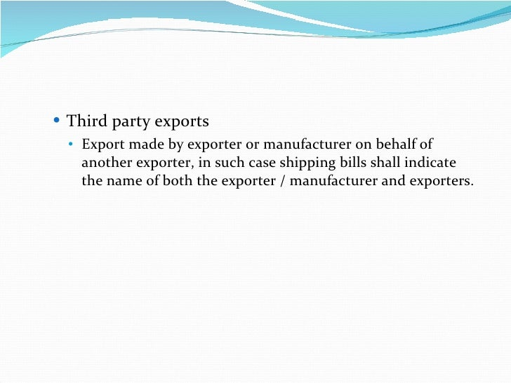 export import documentation India took a leap forward in improving 'ease of doing business' today by  reducing the mandatory documents required for import and export of.