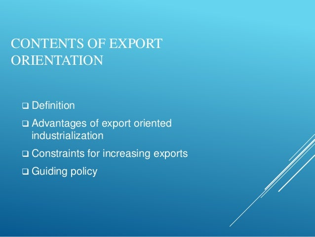 explain the term import substitution