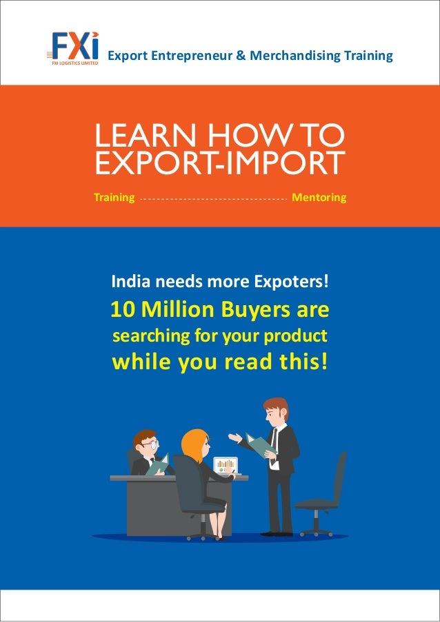Impexperts Provide Import Export Course, Training, Service ...