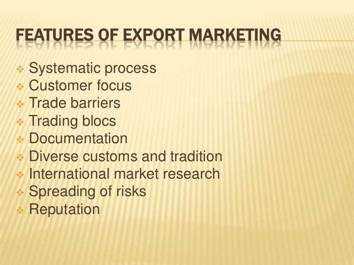 Export marketing