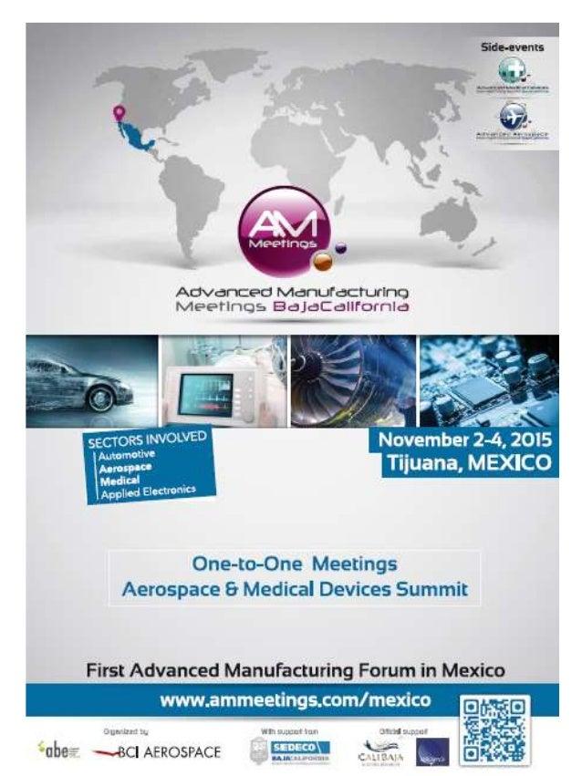 Advanced Manufacturing Meetings Baja California