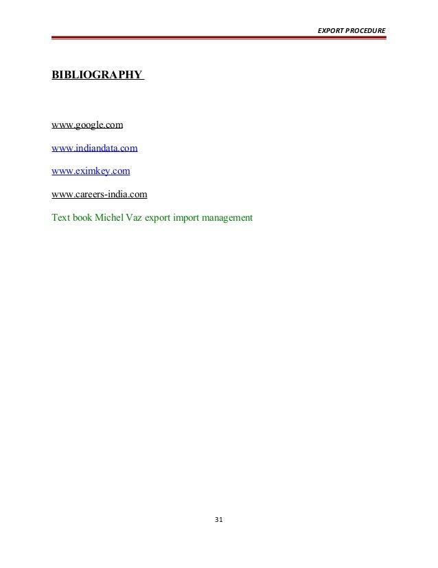 Export procedure 31 638gcb1422667274 export procedure bibliography solutioingenieria Choice Image