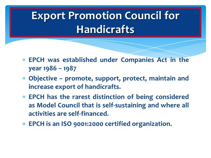 Export Promotion Council Of India
