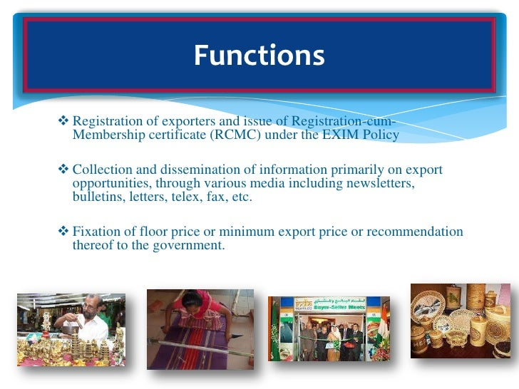 export promotion council Indian oilseeds and produce export promotion council.
