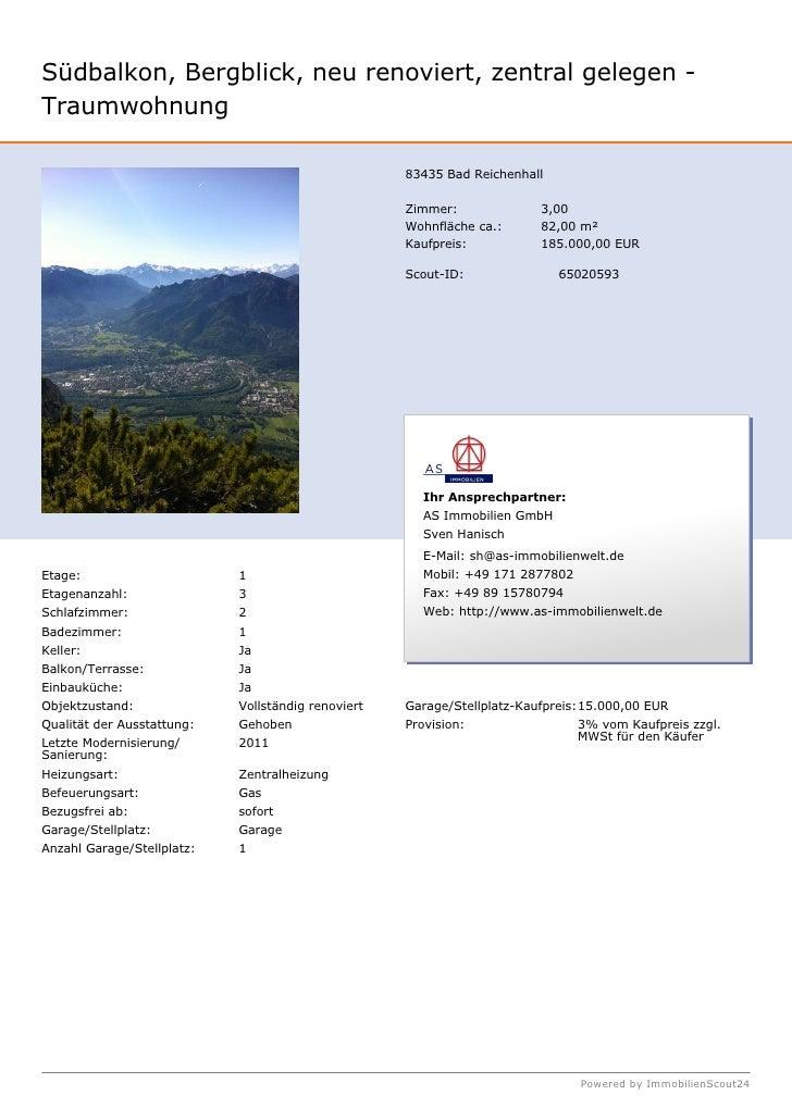 Südbalkon, Bergblick, neu renoviert, zentral gelegen -Traumwohnung                                                    8343...