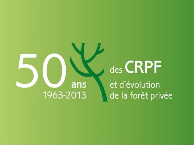 Prospective 2063 Thomas Formery – Directeur général CNPF