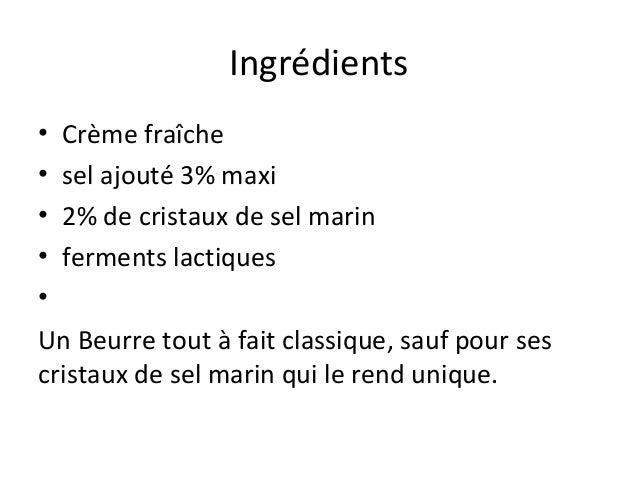 Expose Beurre de Noirmoutier C2i Slide 3