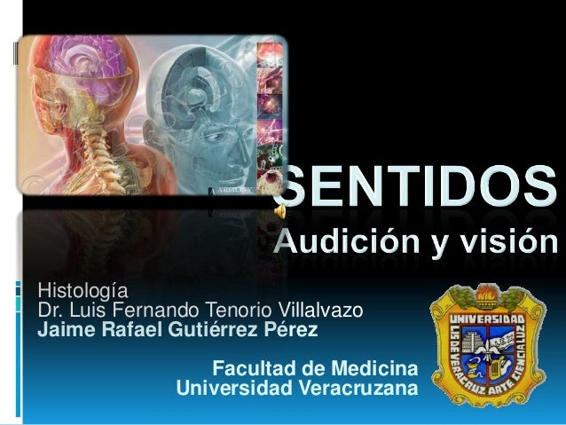 Histología Dr. Luis Fernando Tenorio Villalvazo Jaime Rafael Gutiérrez Pérez Facultad de Medicina Universidad Veracruzana
