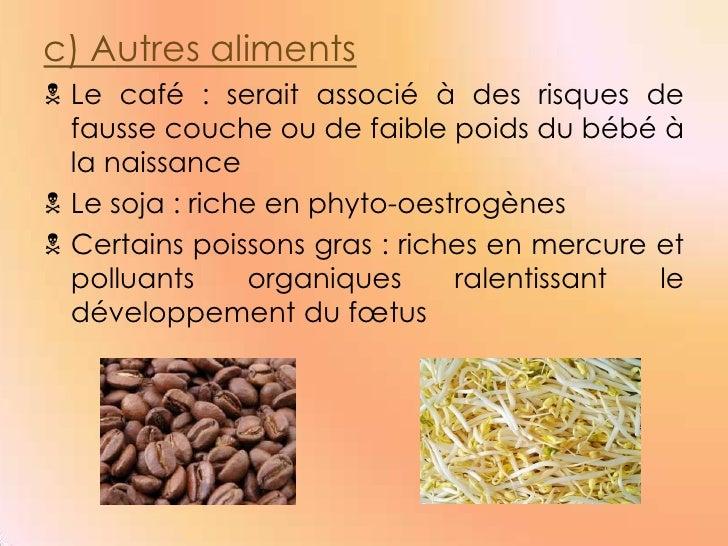 Expose nutrition - Pourcentage de fausse couche ...