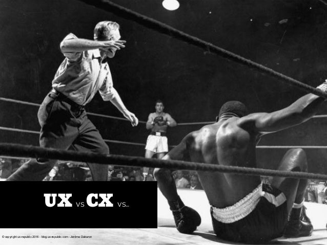 UX vs CX vs… © copyright ux-republic 2016 - blog.ux-republic.com - Jérôme Daburon