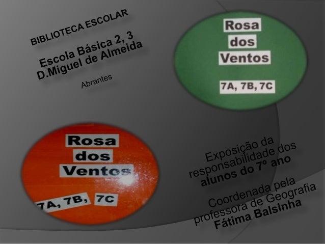 Exposiçao rosa dos_ventos