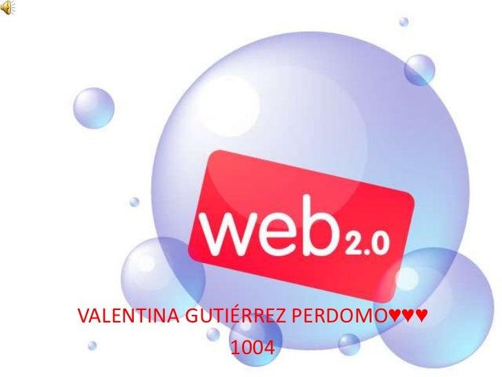 VALENTINA GUTIÉRREZ PERDOMO♥♥♥<br />1004<br />