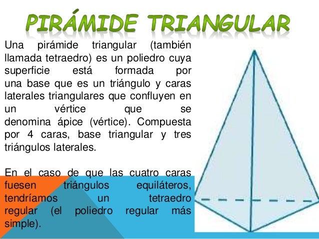 Pirámide Triangular Y Cuadrangular