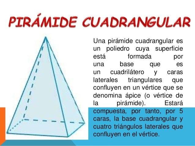 Pirmide Triangular y Cuadrangular