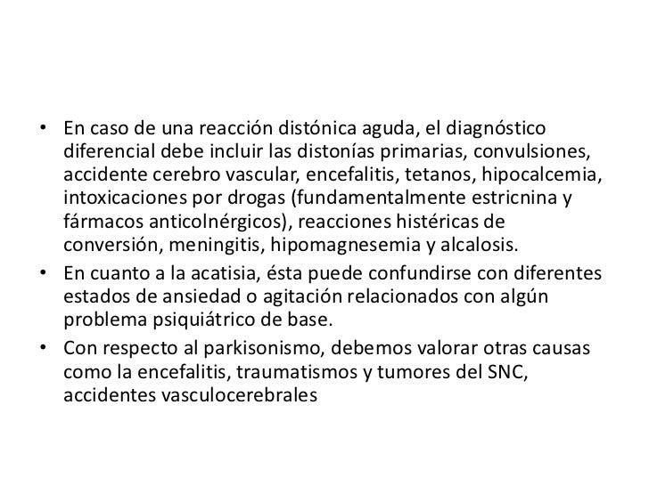 Diagnostico Diferencial<br />Las infecciones del sistema nervioso central y los traumatismos tambien deben formar parte de...