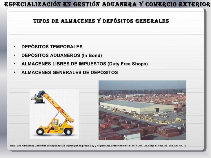 Exposici N De Almacenes En La Zona Primaria De Los Puertos Venezolan